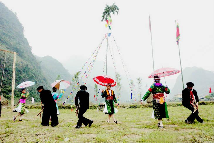 Gau Tao festival - Sapa spring festival