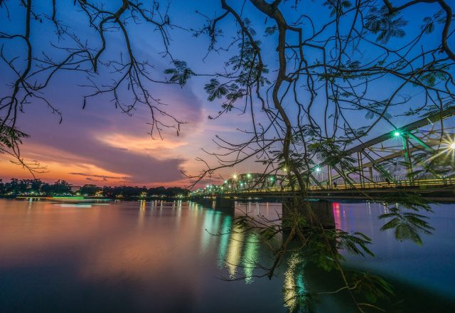 huong river hue city 2019