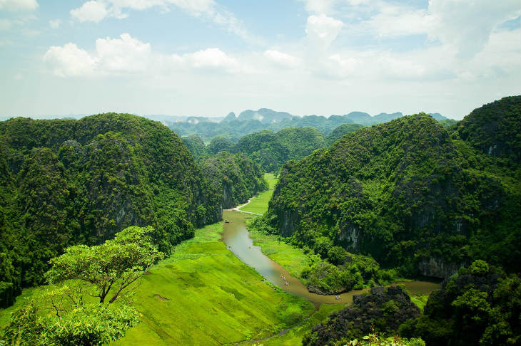 Fascinating the poetic landscape of Tam Coc - Bich Dong