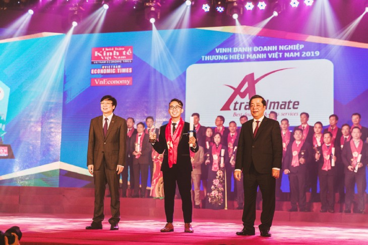 A Travel Mate received the Vietnamese Excellent Brand 2019