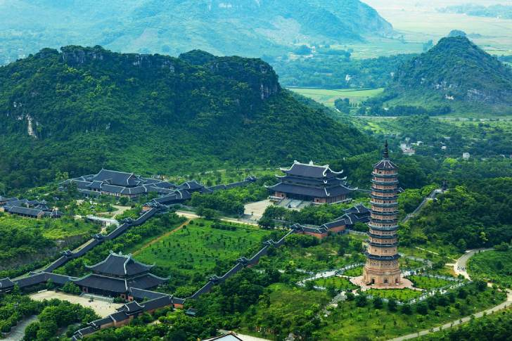 Bai Dinh pagoda - Top 5 attractions in Ninh Binh